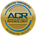 American College Of Radiology Computed Tomography Acredited Facility